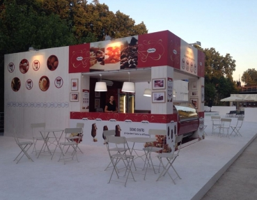 Il Temporary Store Häagen-Dazs all'Isola del Cinema di Roma