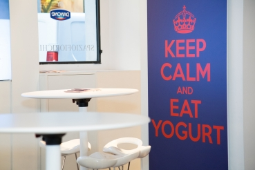 Io Yogurt: il primo temporary shop di Danone