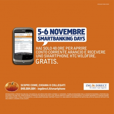 "ING DIRECT ""SMARTBANKING DAYS"""