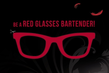 "TIA MARIA ""BE A RED GLASSES BARTENDER"""