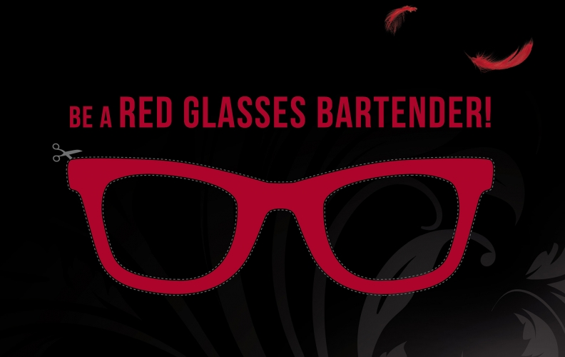 """TIA MARIA """"BE A RED GLASSES BARTENDER"""""""