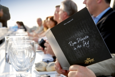 DIAGEO RUM DINNER IN THE SKY