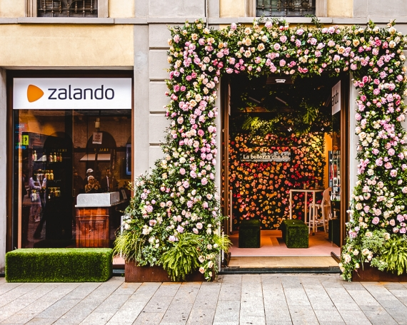 Temporary shop Zalando Beauty