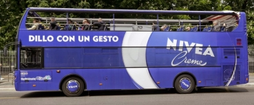 Nivea Sightseeing Blue Bus per Expo 2015